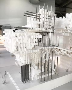 Spring Show now @sciarc #studentwork #architecture #model #details #notmine by leonorabs