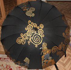 Роспись зонтов — Художник - творец миллиона миров
