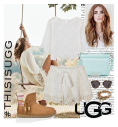 """""""Play With Prints In UGG: Contest Entry"""" by mila96h ❤ liked on Polyvore featuring UGG Australia, Vince Camuto, Christian Dior, Lizzy James and thisisugg"""