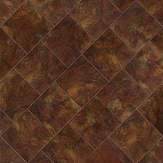 "Marazzi Imperial Slate 12""x12"" Rust Field Tile #americanfastfloors"