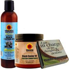 Outer Beauty Supply - Black Castor Oil Shampoo
