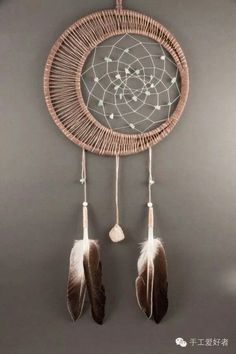 tuto dream catcher ou attrape r ves diy catcher capteurs de r ves et r ves. Black Bedroom Furniture Sets. Home Design Ideas