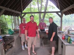 Some of the mentors at team picnic 6/26/13