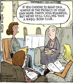 Mystery Fanfare: Cartoon of the Day: Book Club Un Book, Book Nerd, Book Club Books, Book Clubs, Book Lists, I Love Books, Good Books, Books To Read, Book Memes