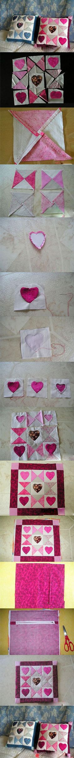 Beautiful cushion tutorial