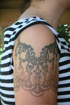 Art Nouveau Gates ( R arm ) 2005 // butterfat tattoo