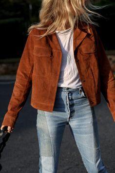 6 Motivos para Garantir uma Jaqueta de Suede | Looks para ...