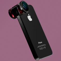 Fisheye lense for the #iPhone 4 #Mobilephone #Technology