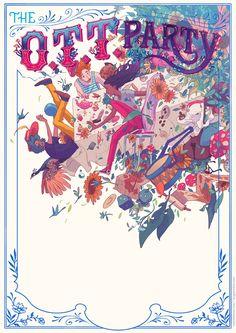 LCV // The O.T.T. Party - Ricardo Bessa Illustration