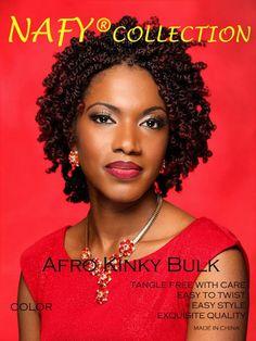Nafy Collection Afro Kinky BULK Twist Hair