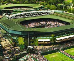 See a match played at Wimbledon