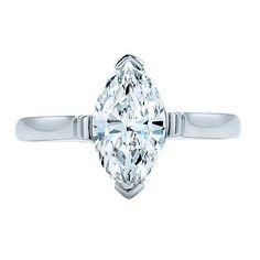 Classic marquise-cut diamond