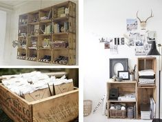 home, i love the use of the crates - its such a great idea