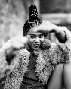 Sho Madjozi is manifesting her pan-African dreams 90s Hairstyles, Braided Hairstyles, Person Of Color, Afro Puff, South African Artists, Aesthetic Hair, Iconic Women, Hair Dos, Black Girls