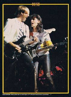 A rare article from the Rush Transcript Archive, chronicling the history of Geddy Lee, Alex Lifeson and Neil Peart of Rush. Rush Music, Rush Concert, A Farewell To Kings, Rush Band, Alex Lifeson, Geddy Lee, Danger Girl, 80s Hair Bands, Dad Rocks