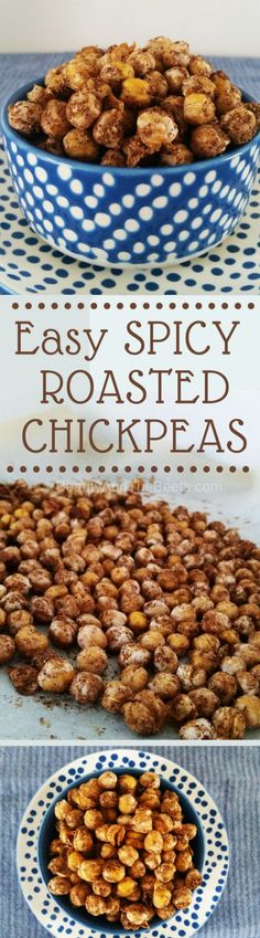 Easy Spicy Toasted Chickpeas Beauty and the Beets