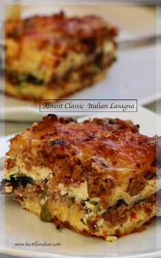 I absolutely adore this recipe for lasagna. It's got all the components of a classic with the ease that we all want in a recipe. Click the Pic and subscribe to www.bestillandeat.com for always SIMPLY.GORGEOUS.FOOD