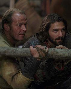 Jorah Mormont and Daario Naharis, Game of thrones (season 6, ep 4) published by Blixtnatt