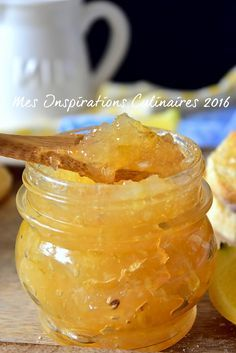 Marmelade de citron (recette facile) Jam Recipes, Sweet Recipes, Dessert Recipes, Cooking Recipes, Compote Recipe, Creme Dessert, Jam And Jelly, Vegetable Drinks, Healthy Eating Tips