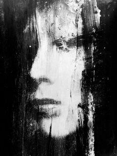by Michal Mozolewski. Dark Portrait, Portrait Art, Portraits, Traditional Witchcraft, Fear Of The Dark, Ap Art, Art For Art Sake, Drawing Challenge, Types Of Art