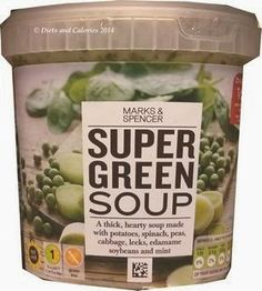 Marks & Spencer Soups Super Green