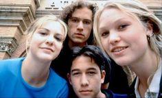 Larissa Oleynik, Heath Ledger, Joseph Gordon-Levitt & Julia Stiles - 10 things I hate about you (1999)