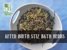 These soothing and relaxing Sitz Bath herbs are helpful to mom and baby for post-birth healing. Use as a soak, rinse or compress for quick recovery. DIY Recipe.