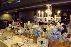 Unique Centerpieces For Weddings Candle Light Dinner | visit www.lovelyweddingideas.com