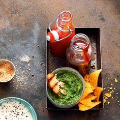Der Klassiker unter den Grillsaucen aufgepeppt mit knusprigen Tortilla-Chips.