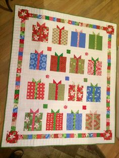 Complete Presents Galore quilt