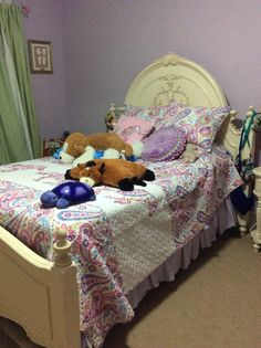 If your daughter is a pop are girl and loves horses try this (ps this is my room)
