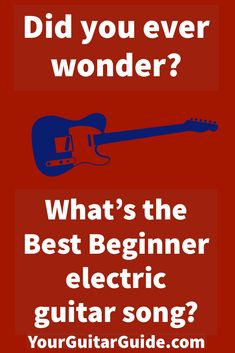 What is the Best Beginner Electric Guitar Song? Have a look and get an eye opener. Also learn how to play it. Play Guitar Chords, Guitar Chords And Scales, Learn To Play Guitar, Music Guitar, Playing Guitar, Guitar Pins, Easy Electric Guitar Songs, Beginner Electric Guitar, Easy Guitar Songs