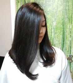 80 Bob Hairstyles To Give You All The Short Hair Inspiration - Hairstyles Trends Long Brown Hair, Long Curly Hair, Dark Hair, Medium Hair Cuts, Medium Hair Styles, Curly Hair Styles, Messy Bob Hairstyles, Lob Hairstyle, Ling Bob
