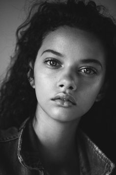 Marina Nery. This young lady has such soulful eyes. LO