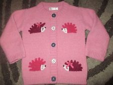 Baby girls Hedgehog cardigan age 12-18 months