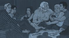 AVENGERS : go the f__k to sleep by LadyNorthstar.deviantart.com on @deviantART