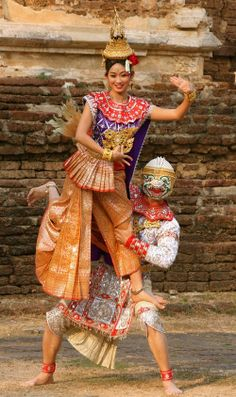Servicio tailandés baile