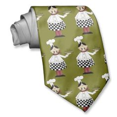 Italian chef tie