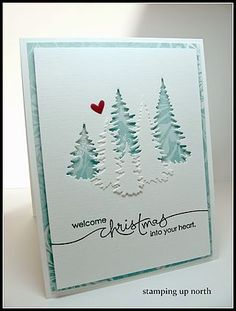 Welcome Christmas...   stamping up north   Bloglovin'