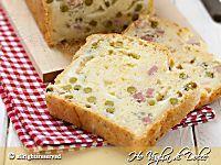 Plumcake salato facile e veloce ricetta