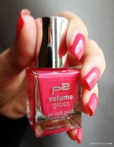 Vernis P2 volume gloss rose