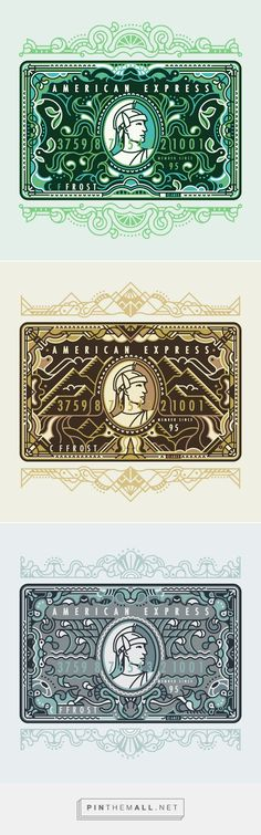 American Express by MUTI - created via http://pinthemall.net