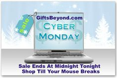 The holidays are fast approaching! Take advantage of our Cyber Monday Sale today! Sale ends at midnight! #CyberMonday #Christmas #Sale