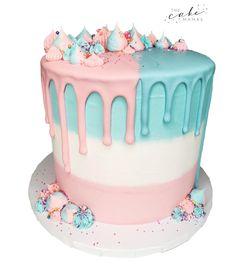 Gender Reveal Cake - Celebration cakes for women, Party organization ideas, Party plannig business Cakes Today, Party Organization, Cakes For Women, Baby Shower Gender Reveal, Baby Shower Cakes, Cake Decorating, Birthday Cake, Celebrities, Celebrity