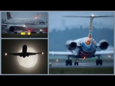moon & dusk planespotting @ zurich airport 16.10.2016 with [live ATC] p a r t 2 - YouTube