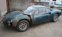Ferrari Dino 246 GT barn find