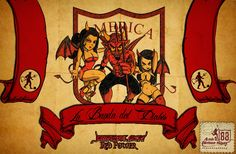 Diabolica Red Power: La Banda que te acompaña Football Tattoo, Retro, Dragon Ball Z, Graffiti, David, Marvel, Posters, Entertainment, Painting