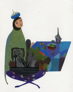 Inca Pan illustration on Behance