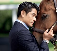 Aaron Kwok Fu Shing - Ambassadors - The Longines Universe - Longines Swiss Watchmakers since 1832  Some men are like wine, they mature with age...