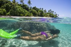 Enjoy snorkeling on the majestic reef or dive the Daveta Levu Passage @ Leleuvia Island Resort #fiji #islands #travel